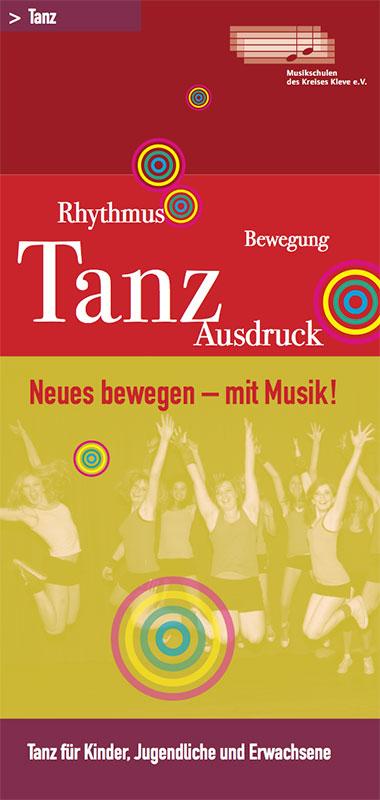 Tanz-Flyer