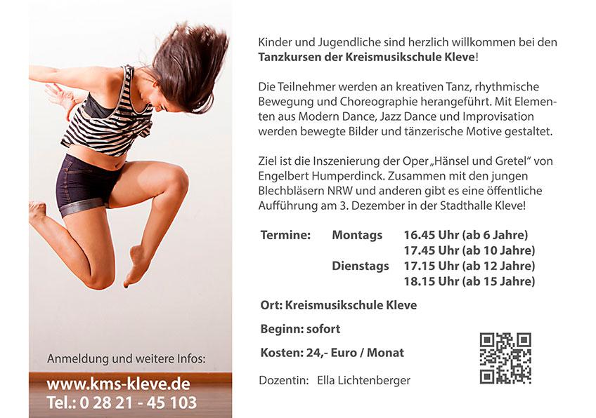 Tänzer/innen gesucht_INFO